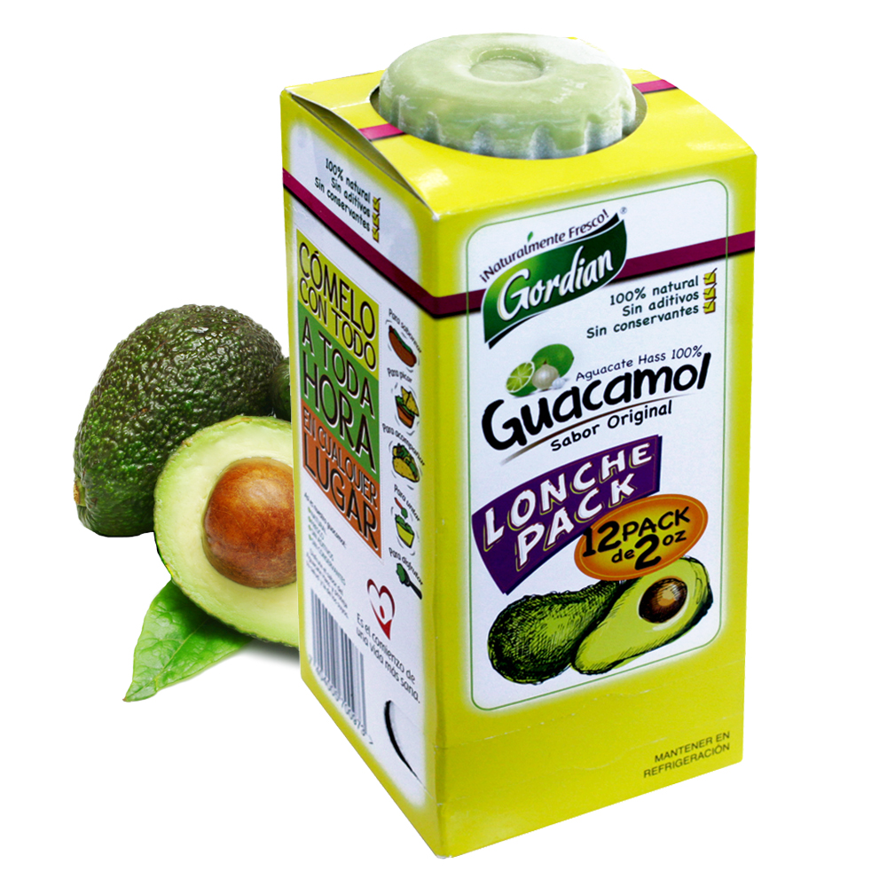 Guacamol Lonche Pack, 12 Unidades